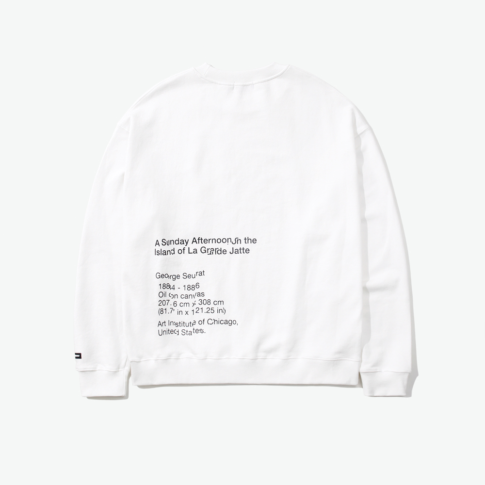 SLICED LSA OVER SWEATSHIRT IVO