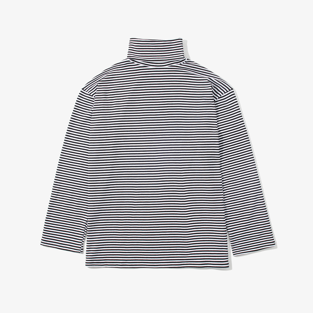 SP STRIPE TURTLE NECK L/S TEE