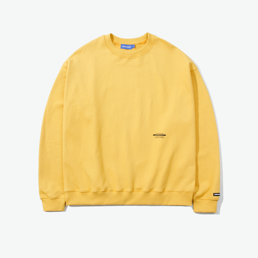 LSA ST OVER SWEATSHIRT YELLOW
