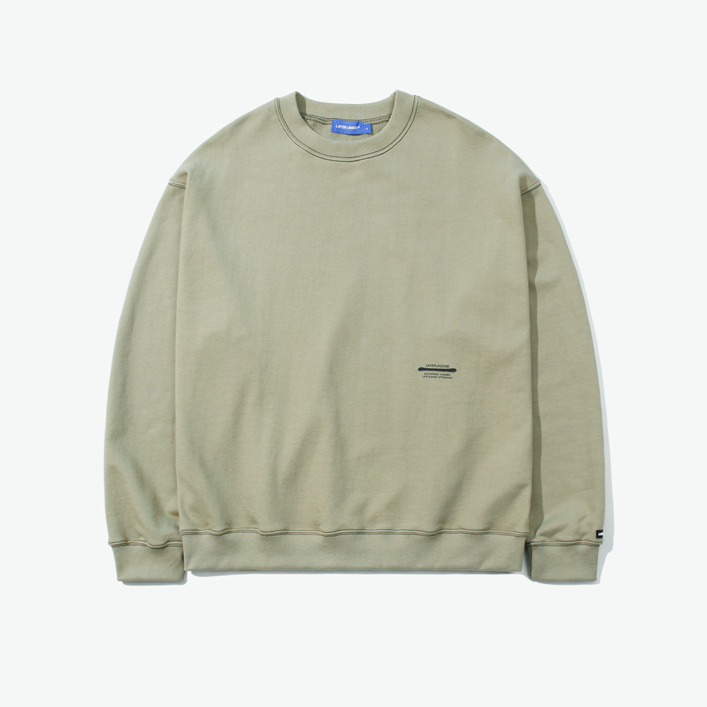 LSA ST OVER SWEATSHIRT LIGHT G