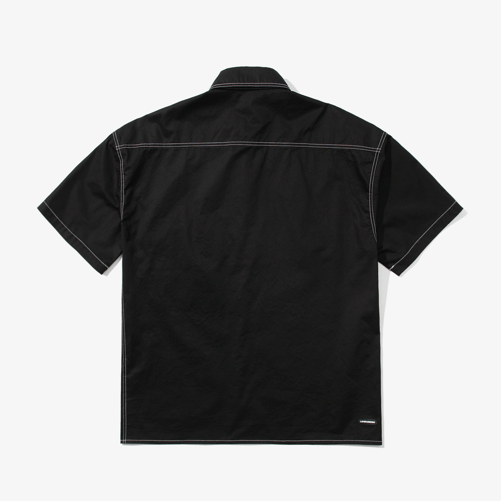 CTRS ST OVER S/S SHIRTS BLACK