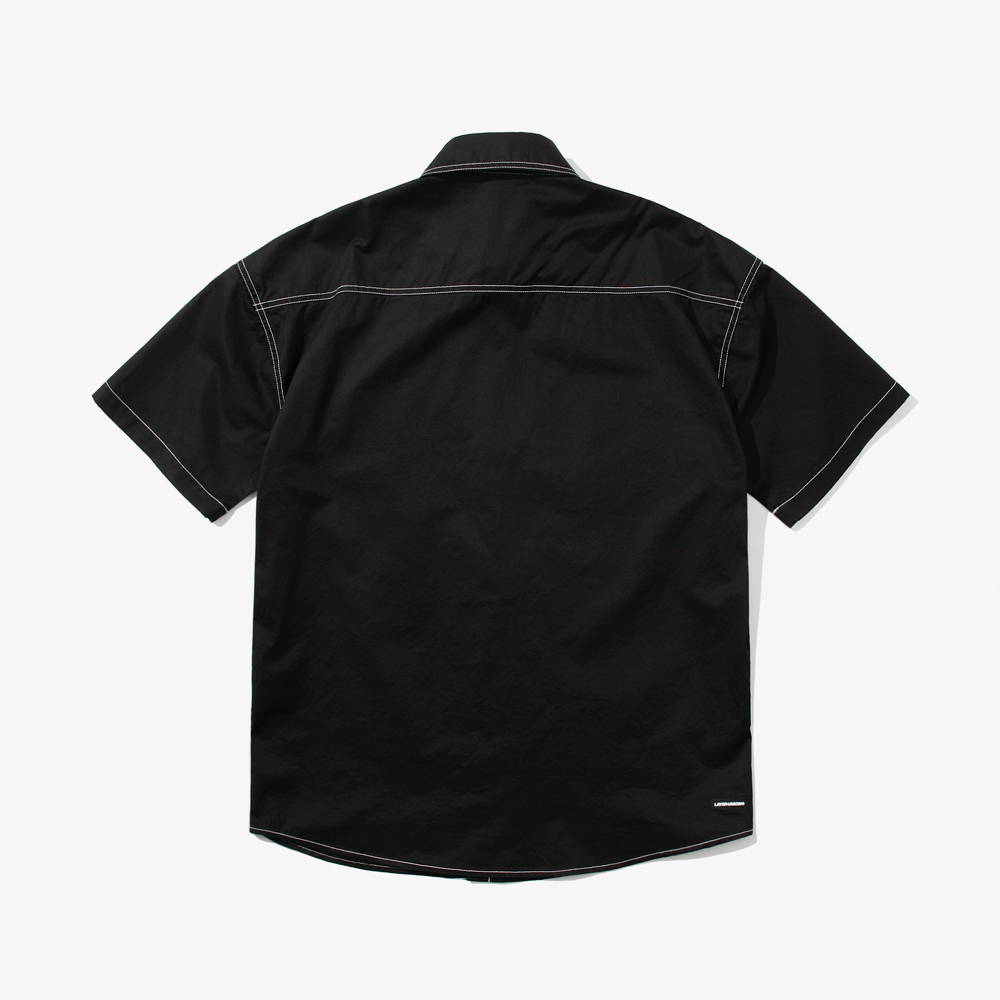 CUT CTRS ST S/S SHIRTS BLACK