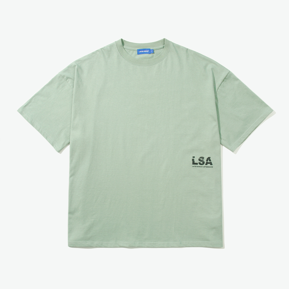 SLICED LSA OVER S/S TEE LIGHT