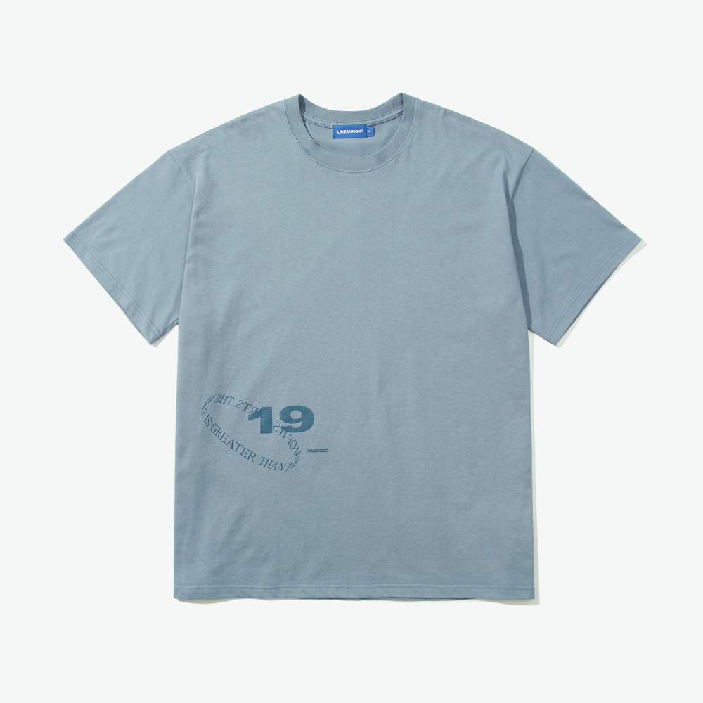 LOOP LSA S/S TEE LIGHT BLUE