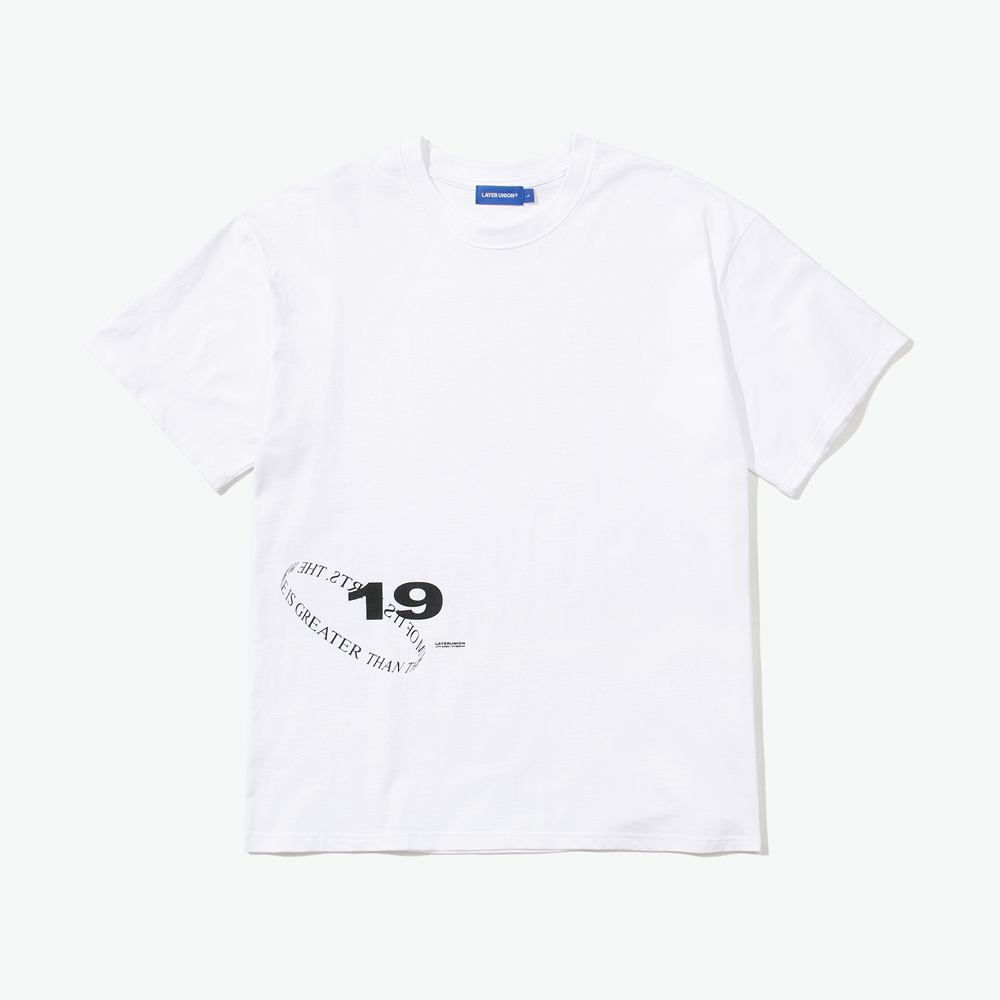 LOOP LSA S/S TEE WHITE