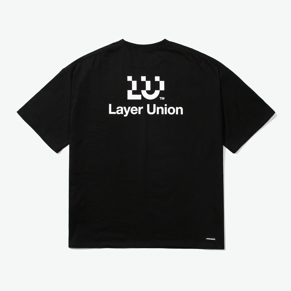 LU LOGO OVER S/S TEE BLACK