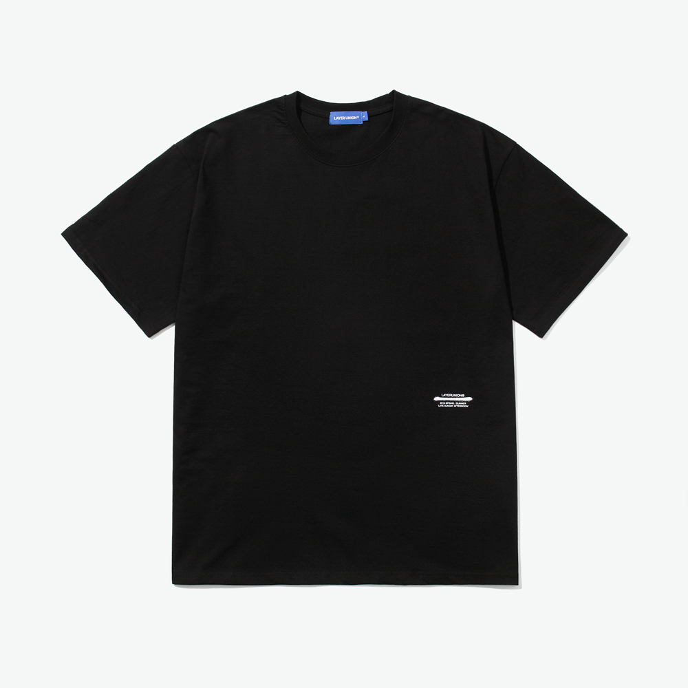 BASIC LSA S/S TEE BLACK