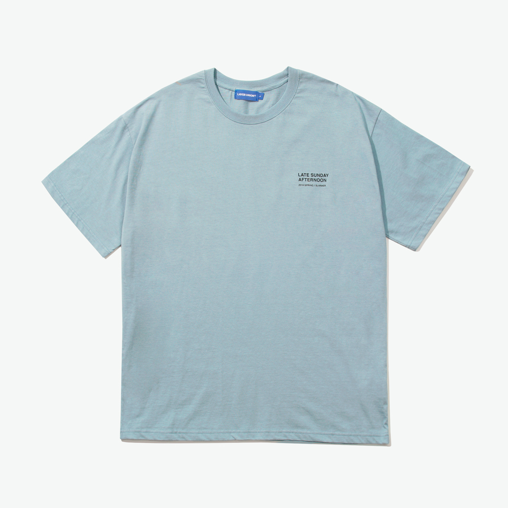 CORAL REEF S/S TEE LIGHT BLUE