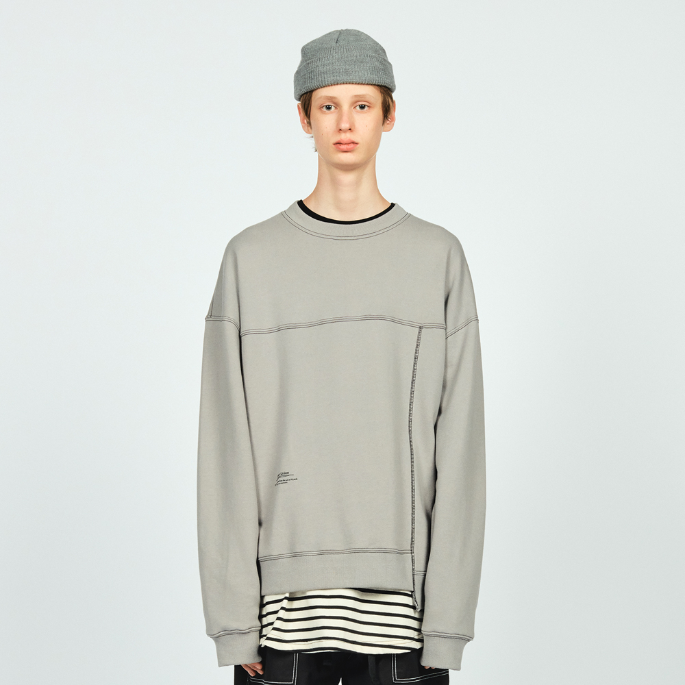 CTRS ST OVER SWEATSHIRT GREY