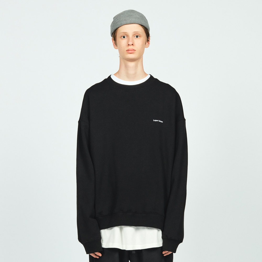 LU LOGO OVER SWEATSHIRT BLACK