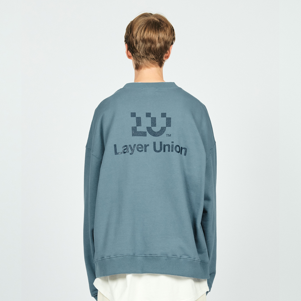 LU LOGO OVER SWEATSHIRT LIGHT