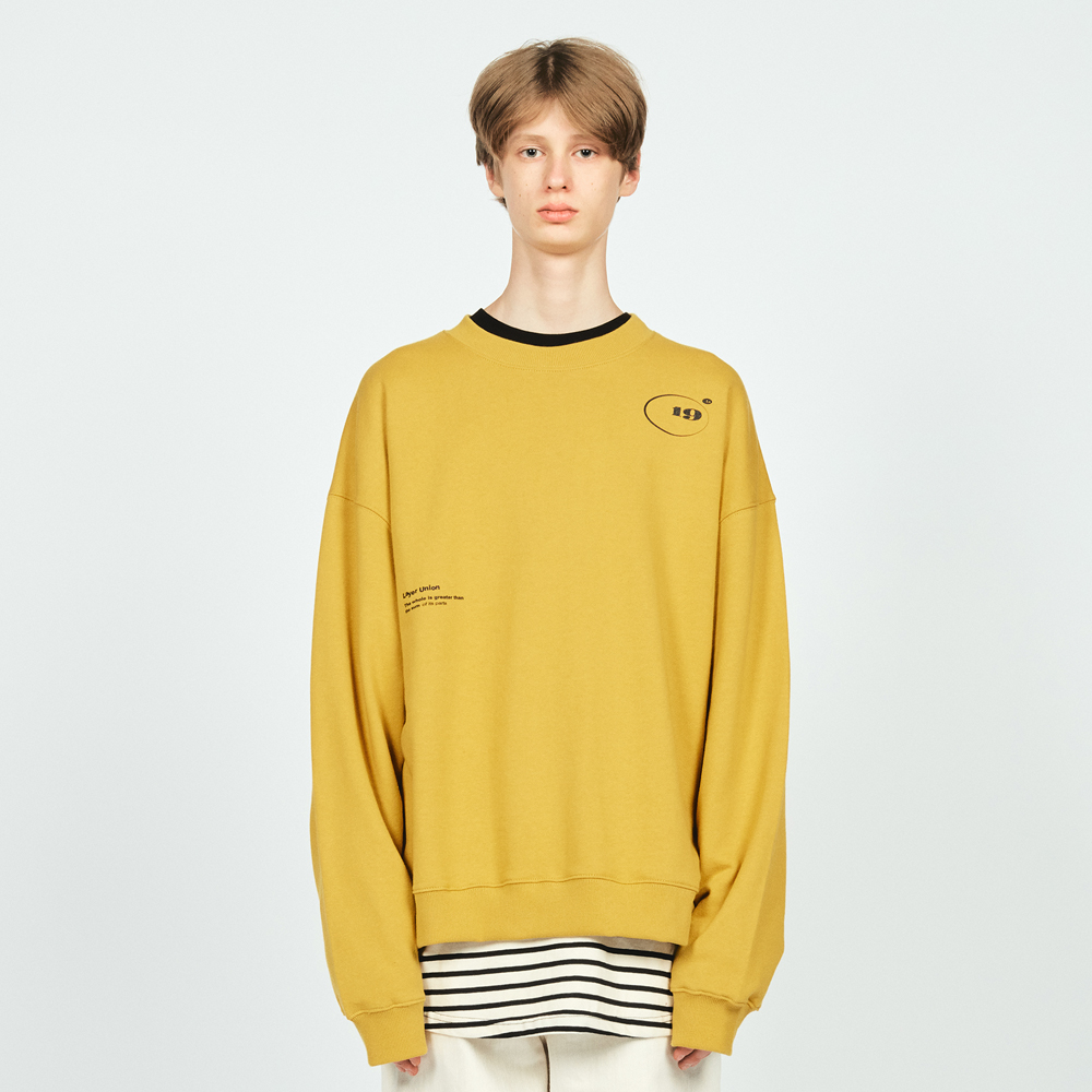 CIRCLE LOGO OVER SWEATSHIRT MU