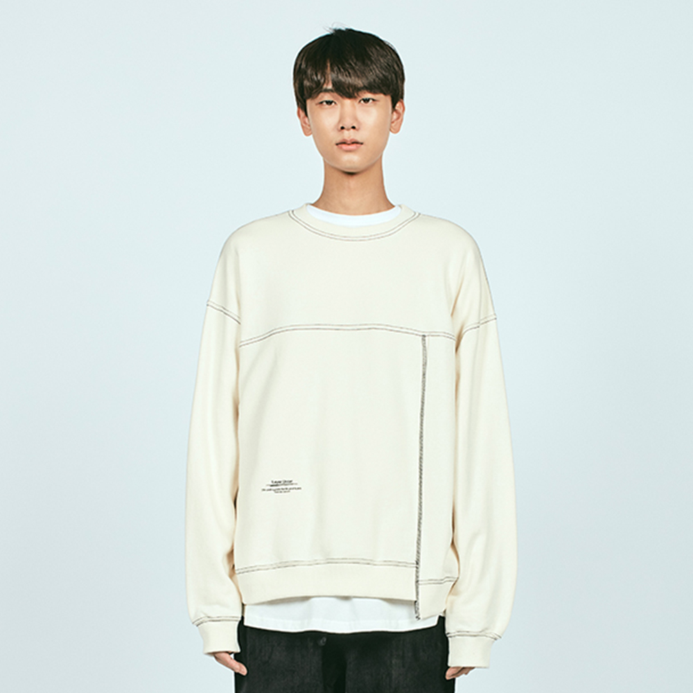 CTRS ST OVER SWEATSHIRT IVORY