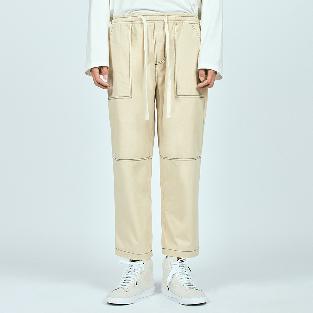 CTRS ST CROPPED BAND PANTS BEI