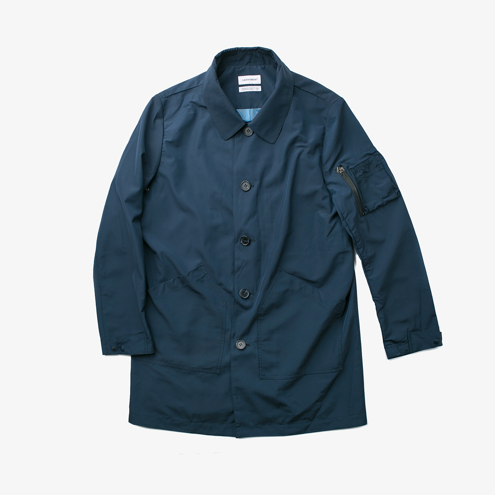 LIGHT MAC COAT NAVY