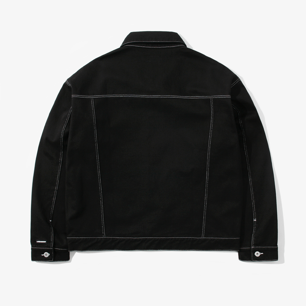 ST OVER TRUCKER JACKET BLACK