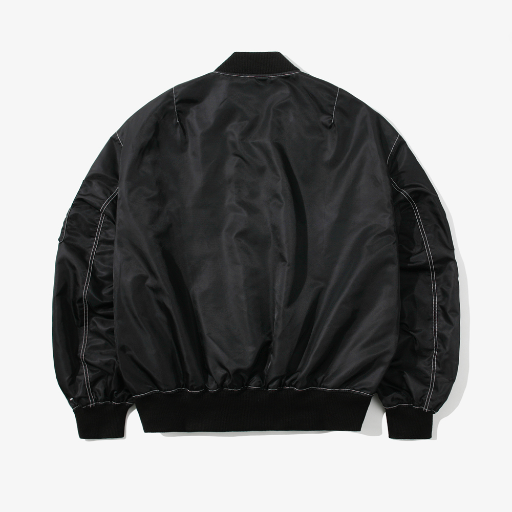 CONTRAST ST OVER MA-1 JACKET B