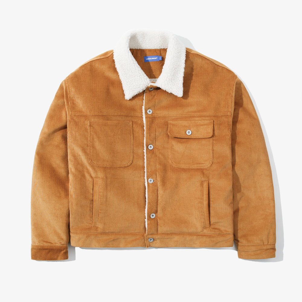 CORDUROY OVER TRUCKER JACKET S