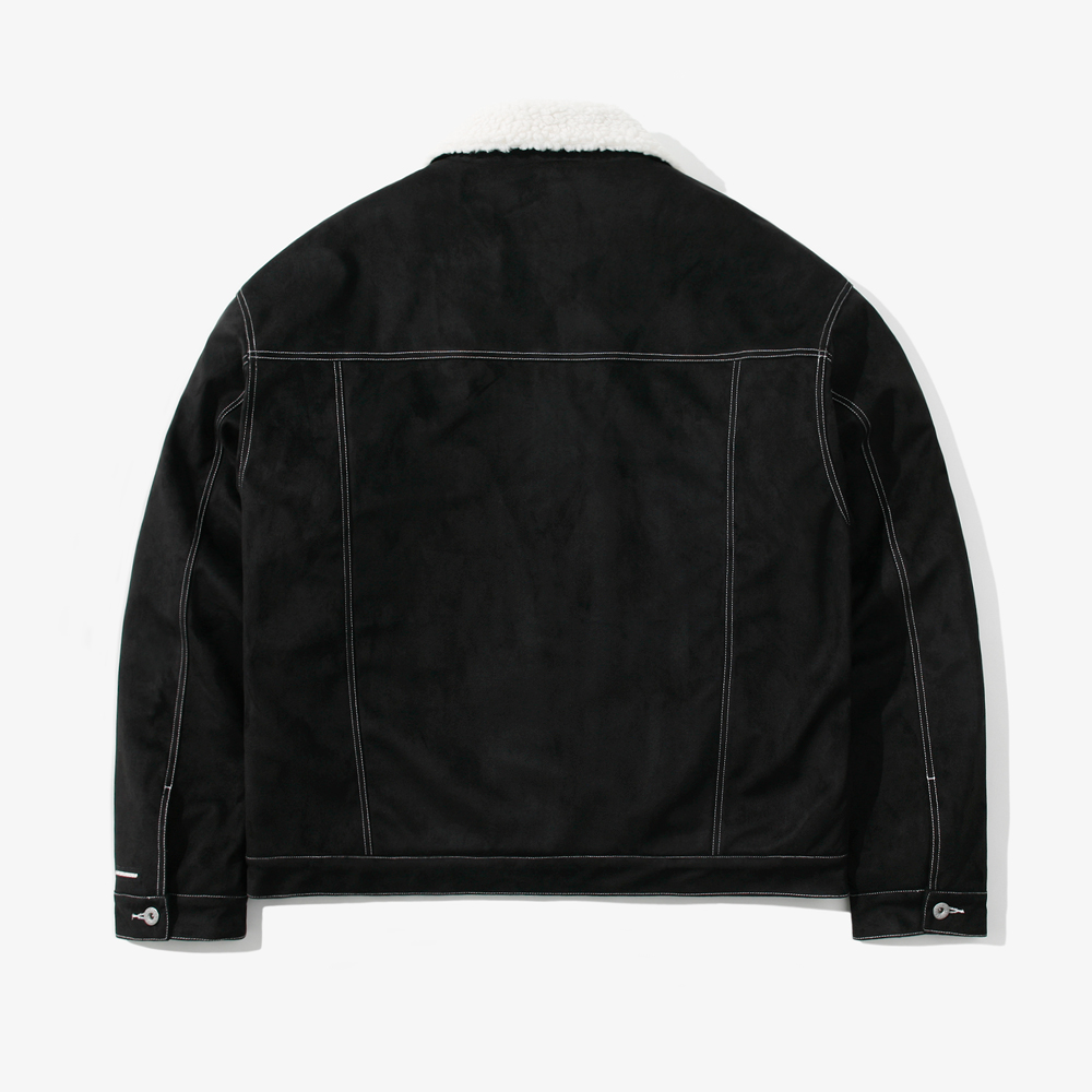 ST SUEDE OVER TRUCKER JACKET S