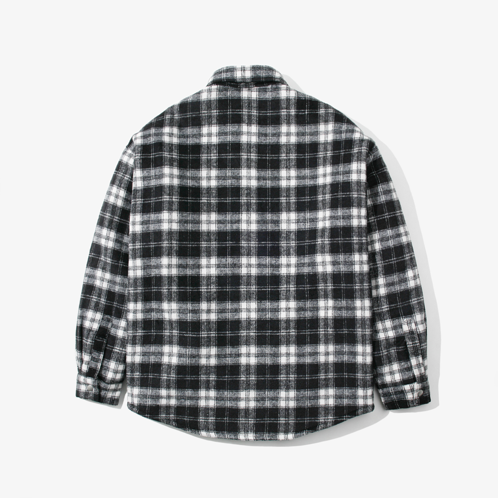 CHECK OVER SHIRTS QL BLACK