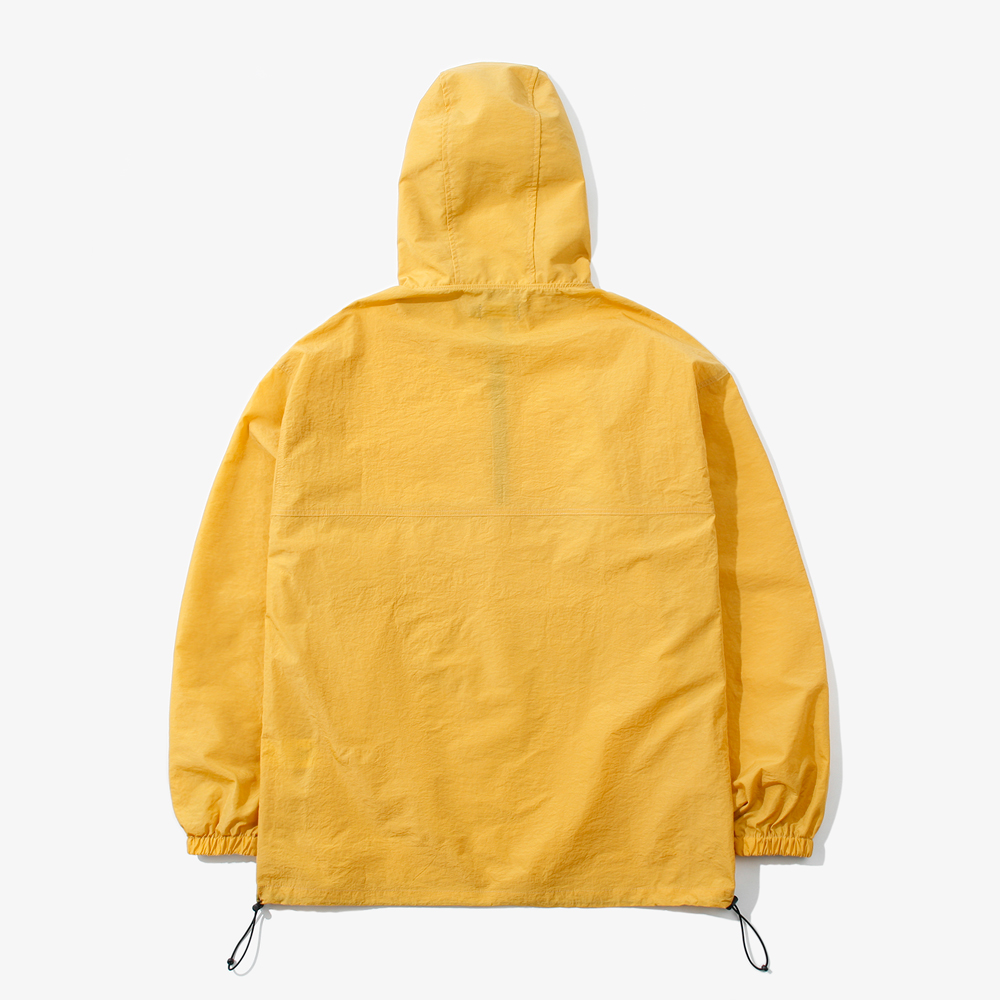 SOLID OVER ANORAK JACKET YELLO