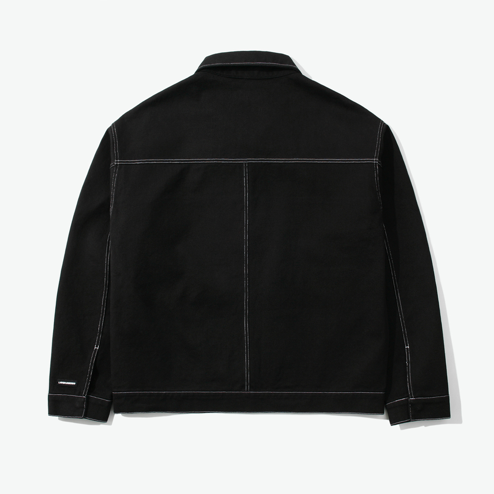 CUT CTRS ST OVER BLOUSON BLACK